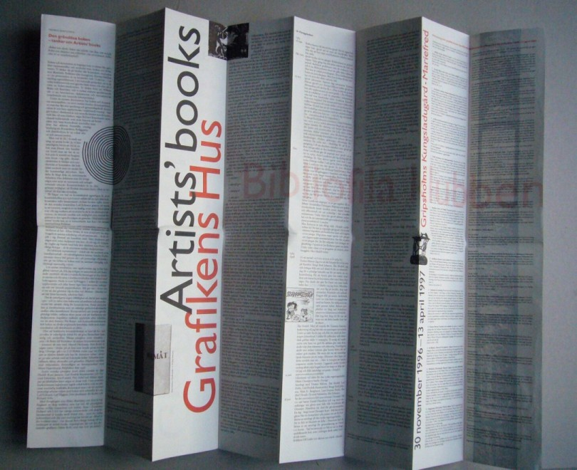 Grafikens Hus_Artists books