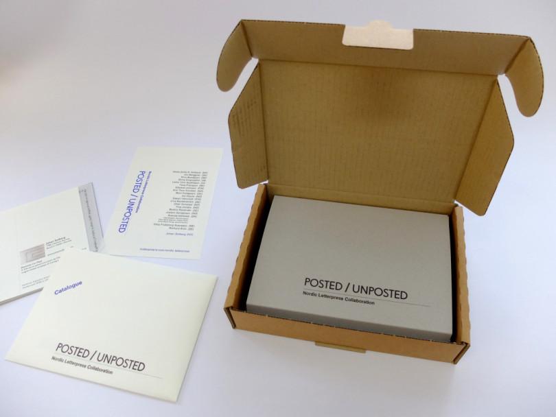 öppen box