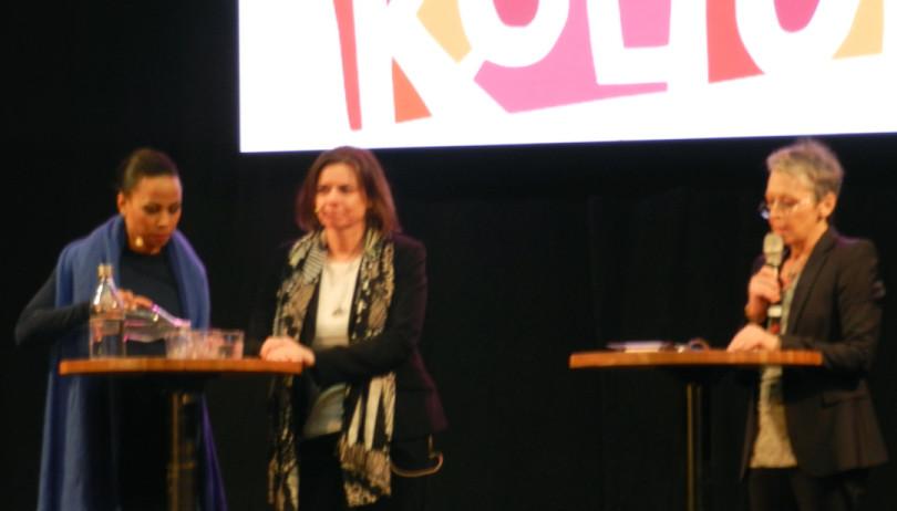 Alice Bah Kunke och Isabella Löwin