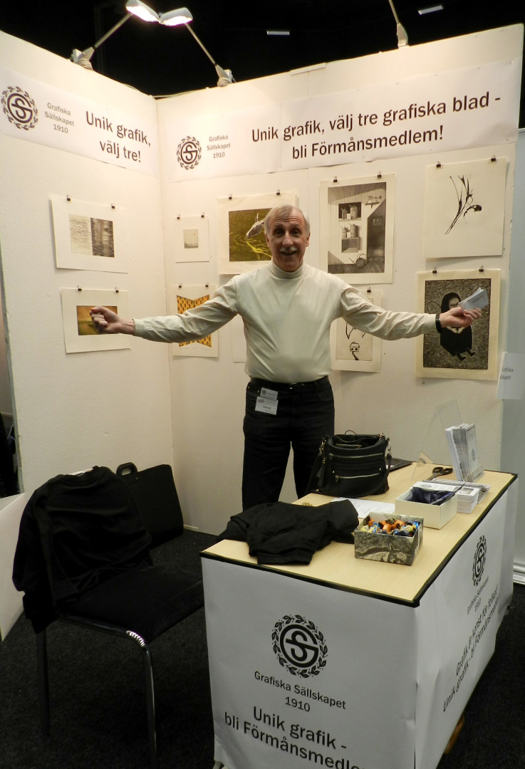 Lennart Nilsson i montern